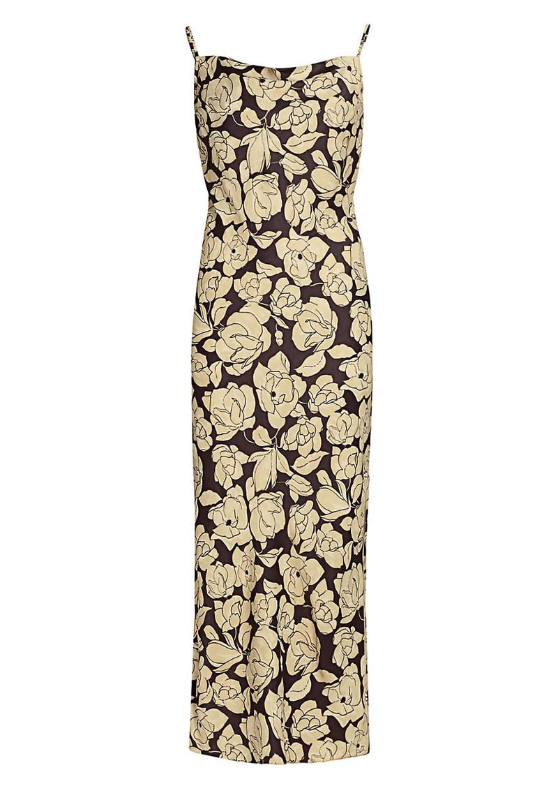 Nanushka Willow Floral Slip Dress