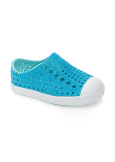 Native Shoes Jefferson Bling Glitter Slip-On Vegan Sneaker (Baby, Walker, Toddler & Little Kid)