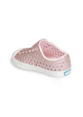 Native Shoes Jefferson Bling Glitter Slip-On Vegan Sneaker (Baby, Walker, Toddler & Little Kid)