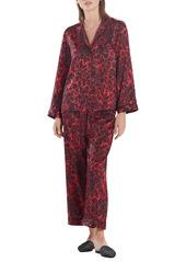 Natori Cheetah Print Pajamas