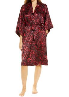 Natori Cheetah Short Robe