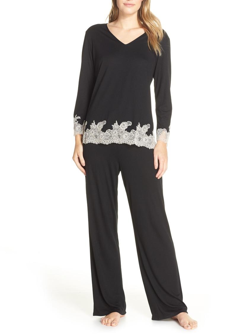 Natori Luxe Shangri-La Pajamas