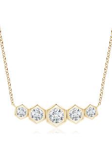 Natori Fine Jewelry Indochine Journey Diamond Pendant Necklace