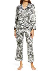 Natori Zebra Sateen Pajamas