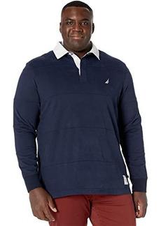 Nautica Big & Tall Long Sleeve Polo
