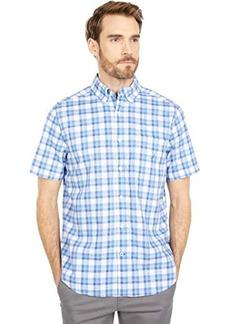 Nautica Classic Fit Plaid Poplin Shirt