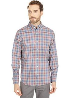 Nautica Classic-Fit Wrinkle-Resistant Plaid Shirt