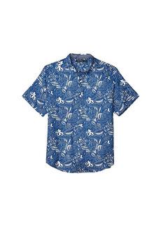 Nautica Short Sleeve Linen Print