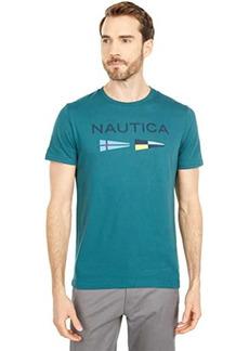Nautica Signal Flags Graphic T-Shirt