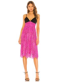 NBD Merlot Midi Dress