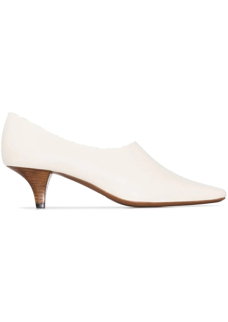 Neous 55mm Chow leather pumps