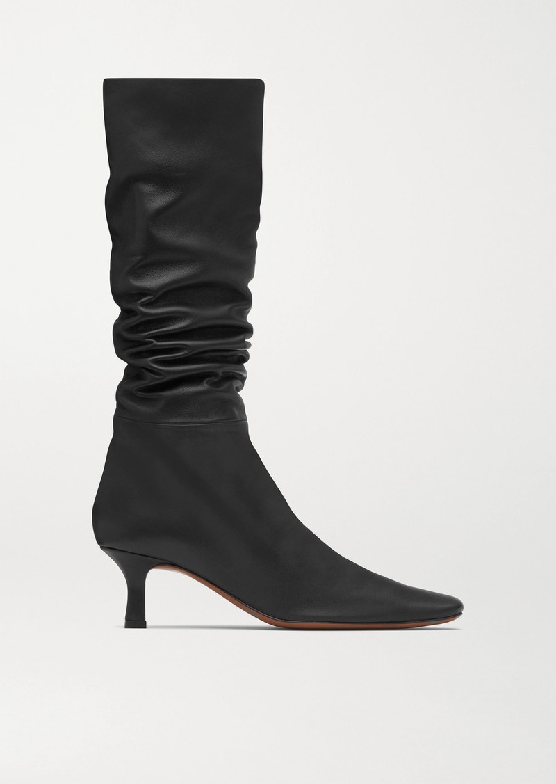 Neous Cynis Leather Knee Boots