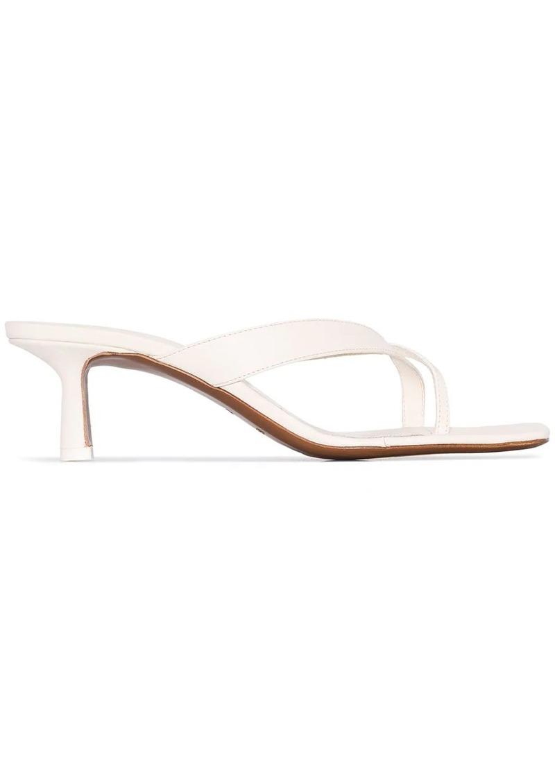 Neous Florae cross-strap sandals