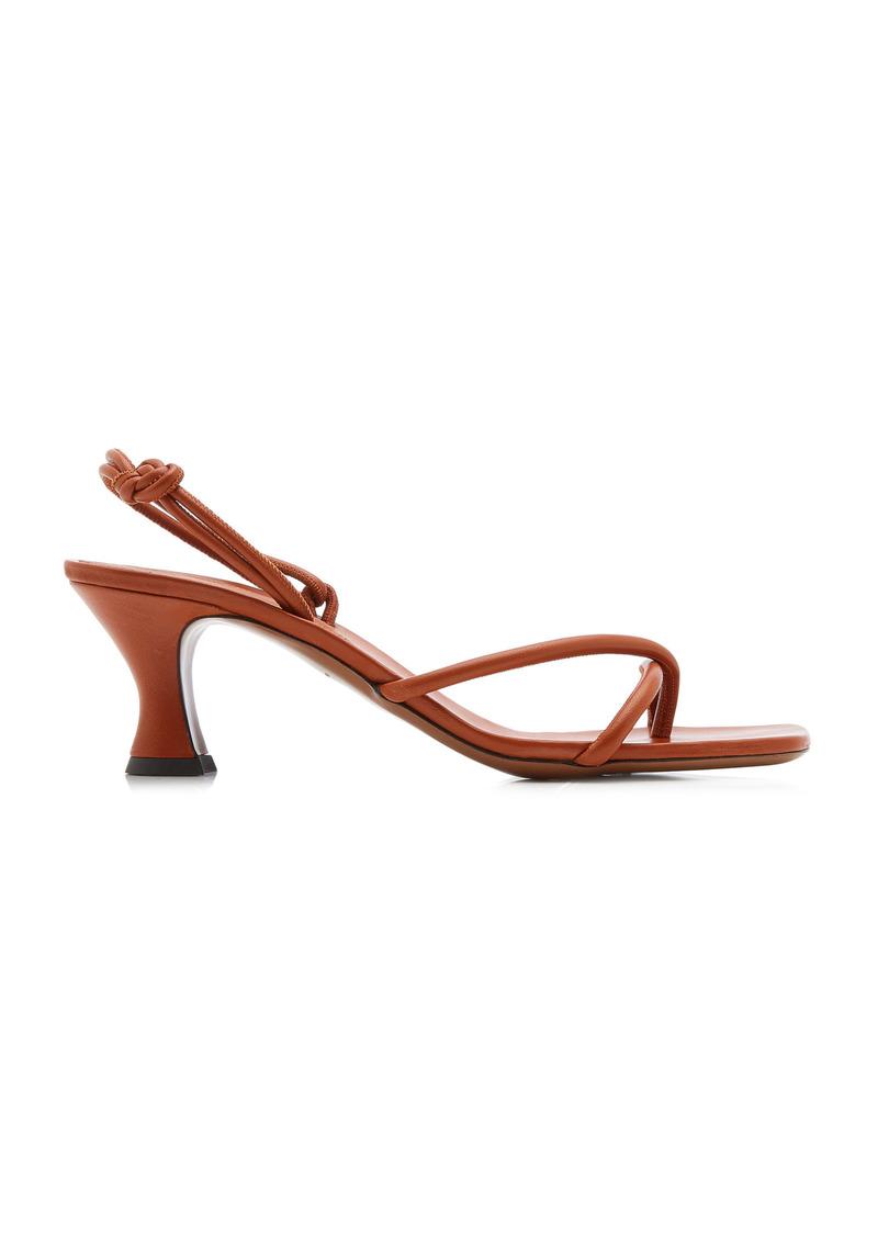 Neous - Women's Borealis Leather Sandals - Brown - Moda Operandi