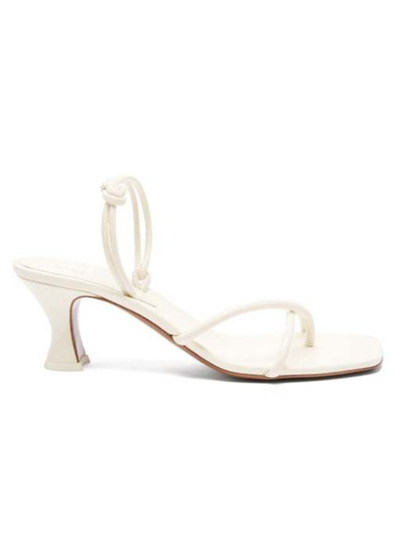 NEOUS Borealis knotted slingback leather sandals