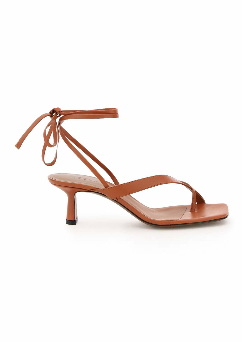 Neous Situla Leather Sandals