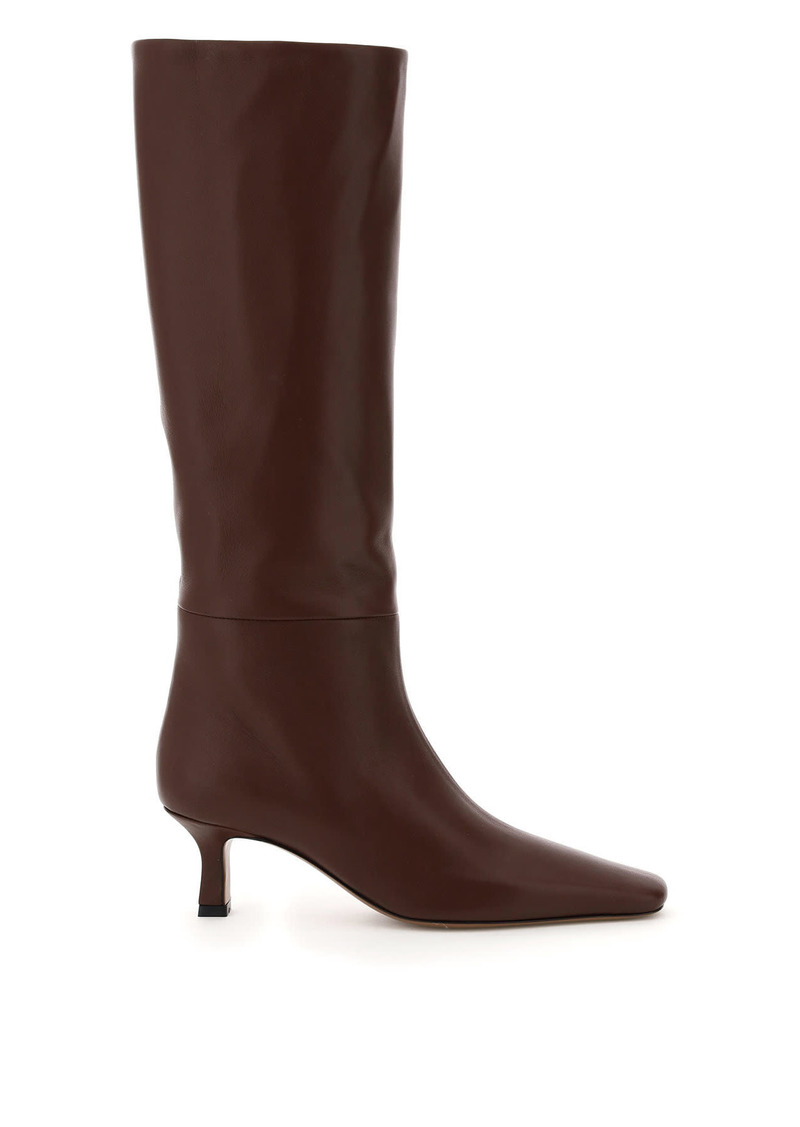 Neous Leather Slouchy Boots