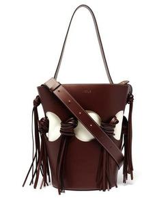 NEOUS Venus cutout leather bucket bag