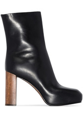Neous Sarin 80mm leather platform boots