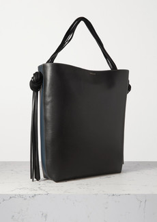 Neous Saturn Oversized Tasseled Leather Tote