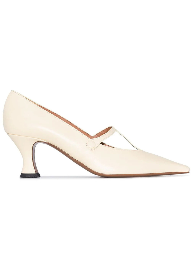 Neous Segin 55mm leather pumps