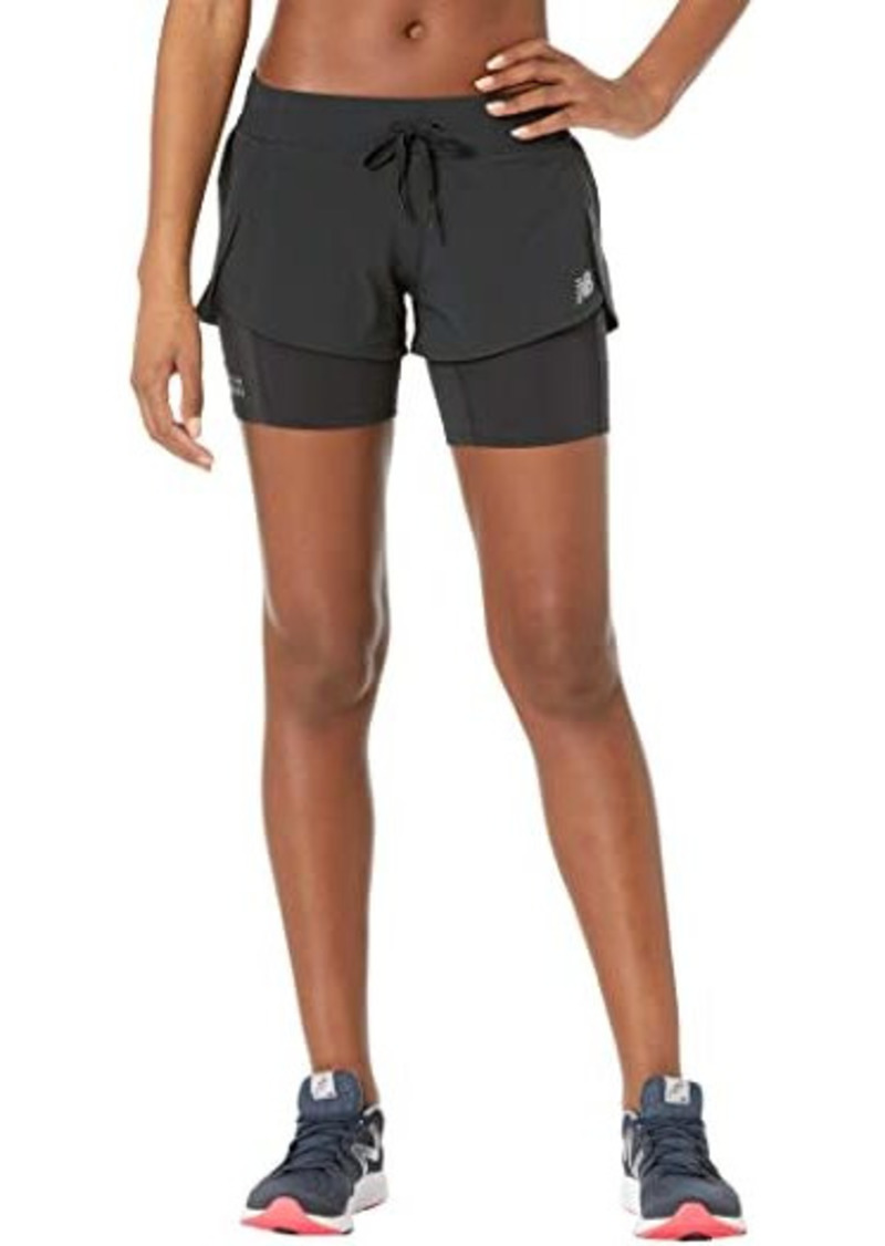 New Balance Impact Run 2-In-1 Shorts