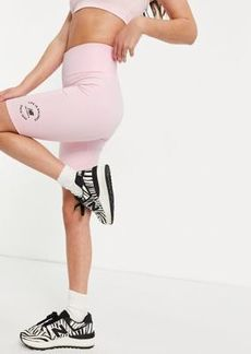 New Balance life in balance legging shorts in pink - exclusive to ASOS