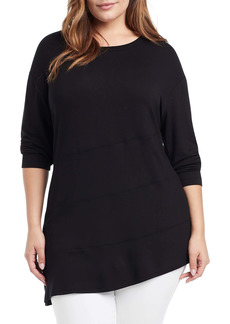 NIC + ZOE NIC+ZOE Amour Asymmetrical Jersey Tunic (Plus Size)