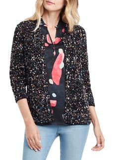 NIC + ZOE NIC+ZOE Confetti Sweater Jacket