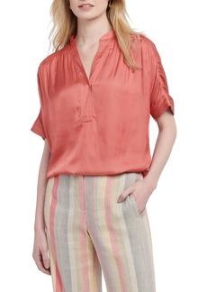 NIC + ZOE NIC+ZOE Destination Short Sleeve Blouse (Regular & Petite)