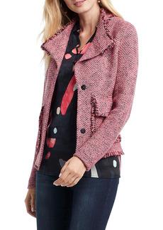 NIC + ZOE NIC+ZOE Favorite Fringe Sweater Jacket (Regular & Petite)