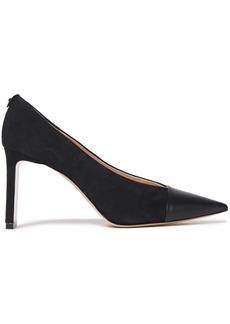 Nicholas Kirkwood Woman Leather And Suede Pumps Black