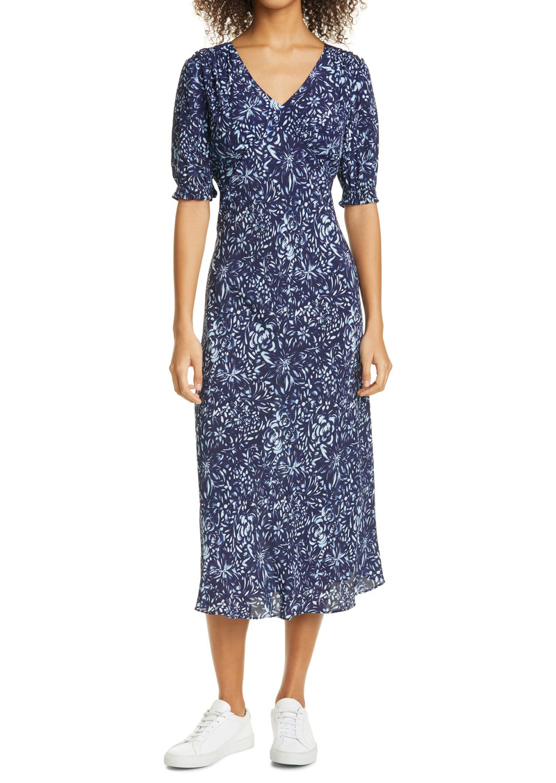 Nicole Miller Evening Garden Midi Dress