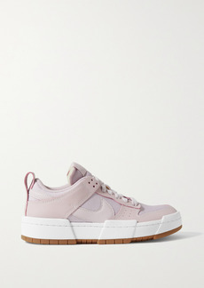 Nike Dunk Low Disrupt Leather And Mesh Sneakers