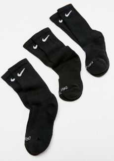 Nike Everyday Plus Cushion Training Crew Sock 3-Pack