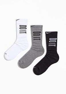 Nike Everyday Plus Cushioned Crew Sock 3-Pack