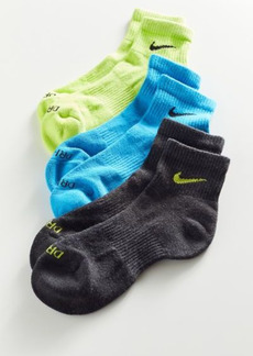 Nike Everyday Plus Cushioned Training Quarter Sock 3-Pack