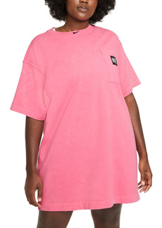 Nike Plus Size Washed Cotton Dress