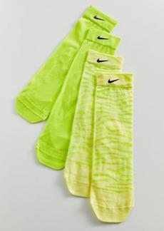 Nike Sheer Training Sock 2-Pack