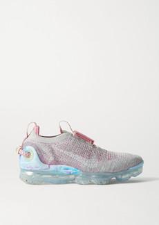 Nike Vapormax 2020 Rubber-trimmed Flyknit Sneakers
