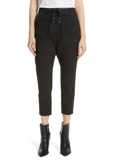 Nili Lotan Avery Lace-Up Pants