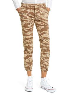 Nili Lotan Camo French Military Crop Pants