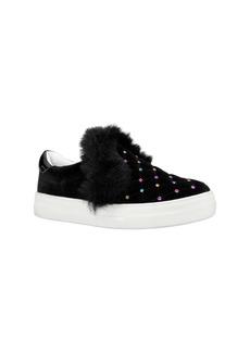 Nina Caziah Faux Fur Sneaker (Toddler, Little Kid & Big Kid)