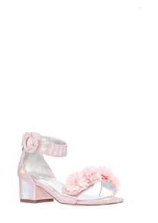 Nina Shlya Floral Embellished Sandal (Walker, Toddler, Little Kid & Big Kid)