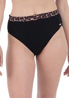 Nine West Leopard Band Bikini Bottom