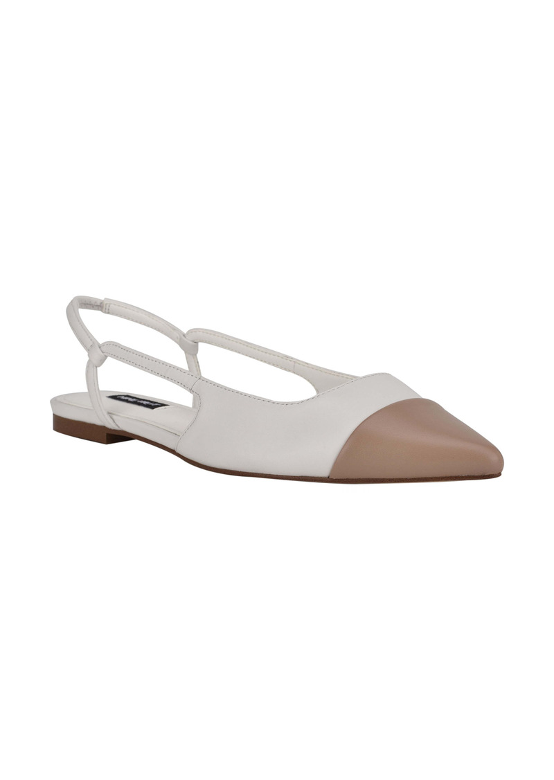 Nine West Babee Slingback Flat (Women)