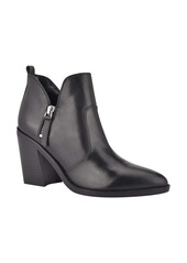 Nine West Byro Block Heel Bootie (Women)