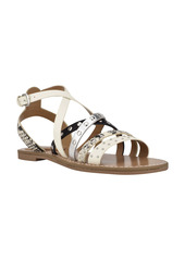 Nine West Cane Studded Strappy Sandal (Women)