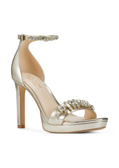Nine West Engaged Embellished Sandal (Women)