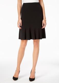 Nine West Flare-Hem Pencil Skirt